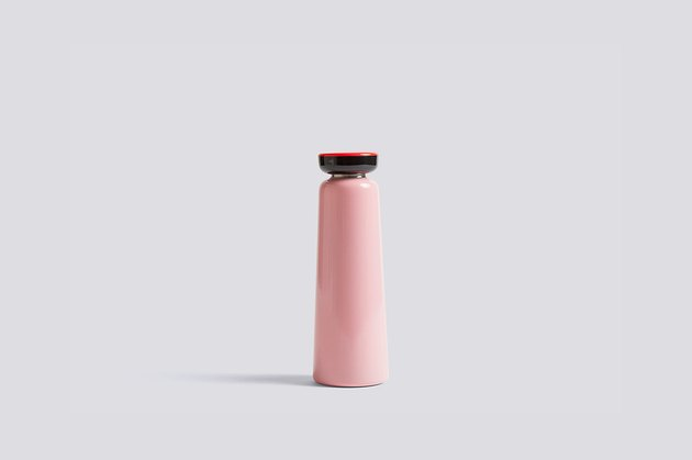 Hay Sowden Bottle in pink and red