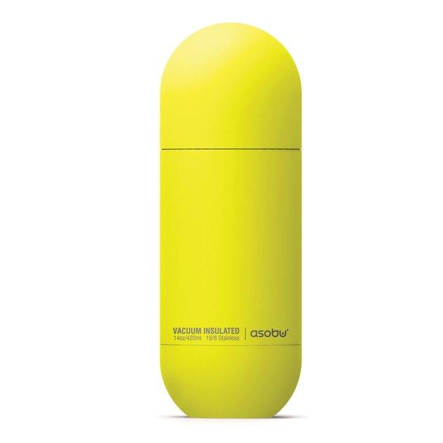 Asobu Orb water bottle in yellow