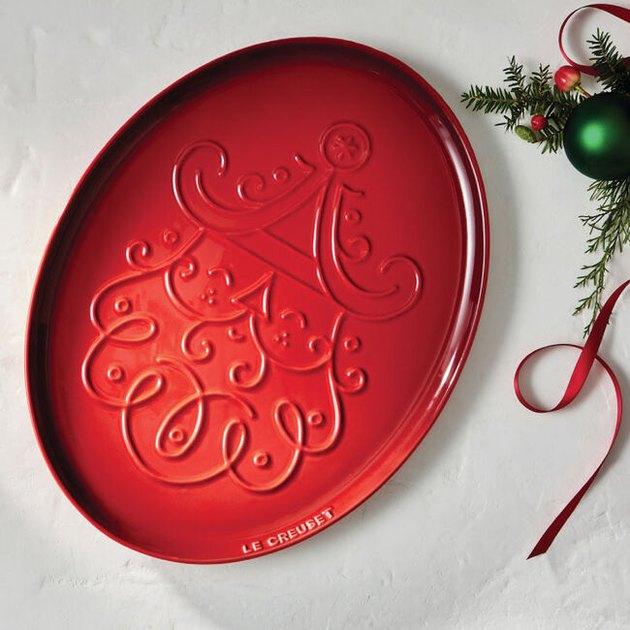 Santa Claus Platter