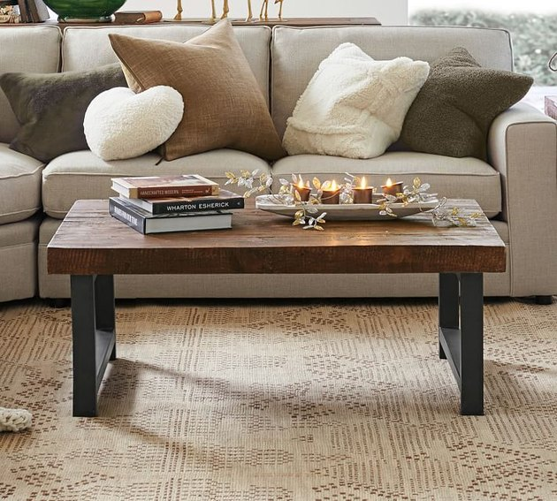 Pottery Barn Griffin Reclaimed Wood Coffee Table