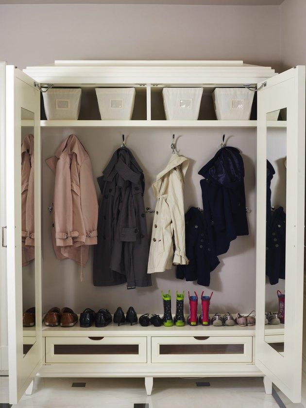dress up storage wardrobe cabinet