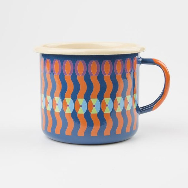 mug with colorful pattern