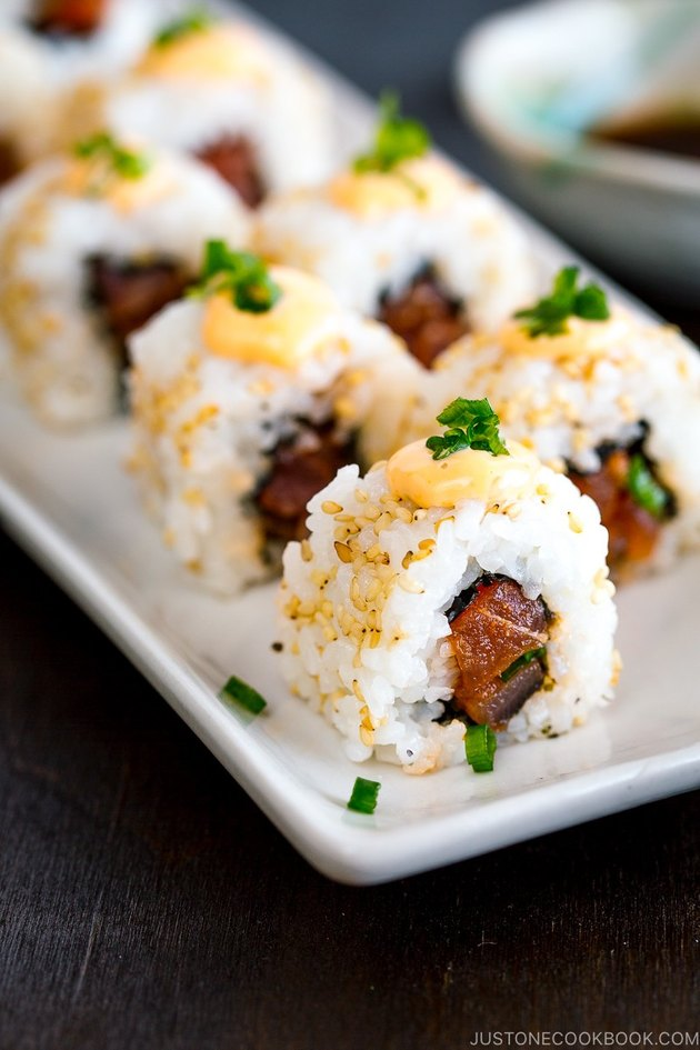 Just One Cookbook Spicy Tuna Roll