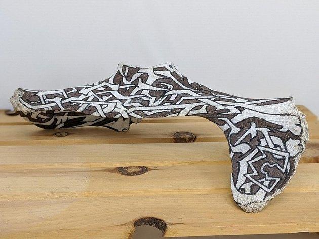 Joeseph Arnoux Indigenous Bone Art
