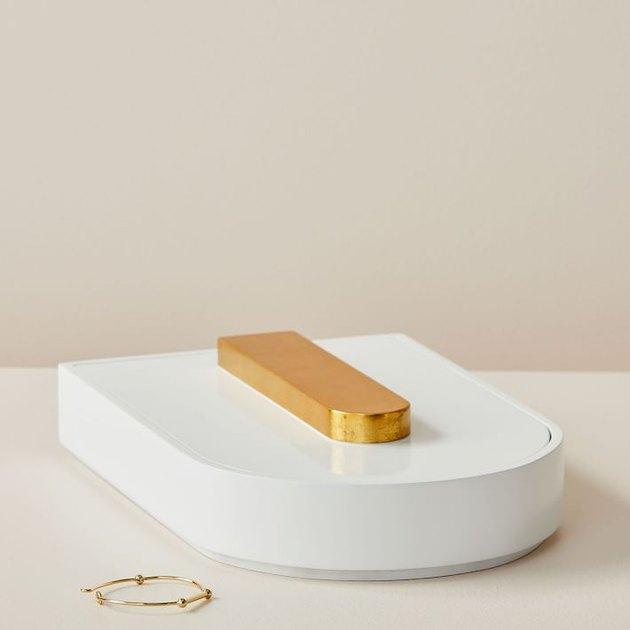 sleek stacking jewelry box