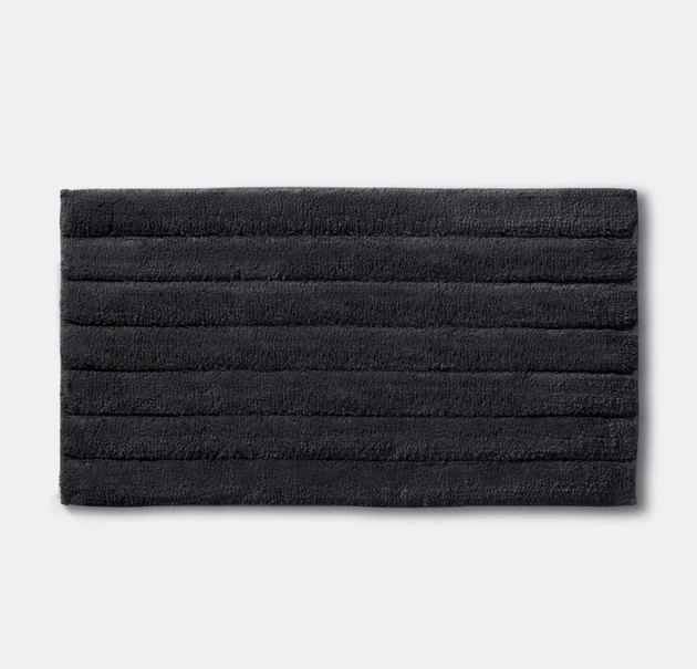 Brooklinen graphite bath mat