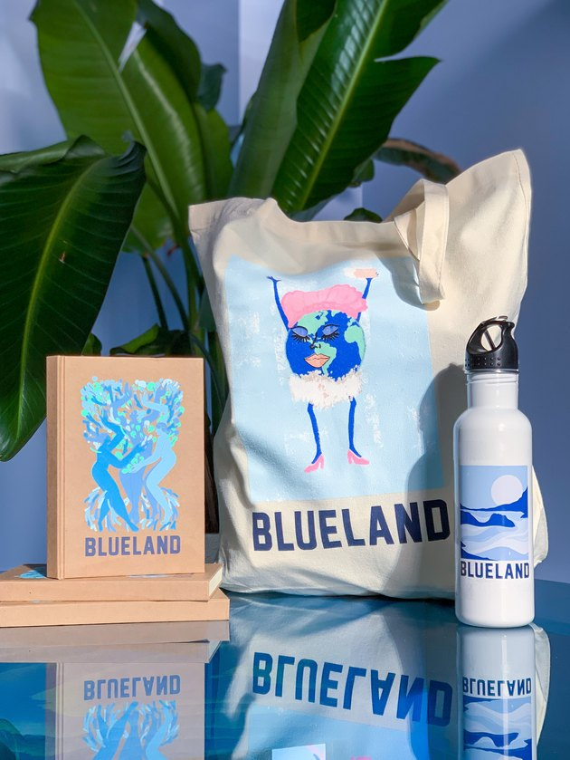 blueland holiday collab