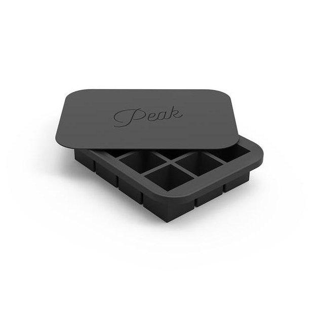 black ice cube tray