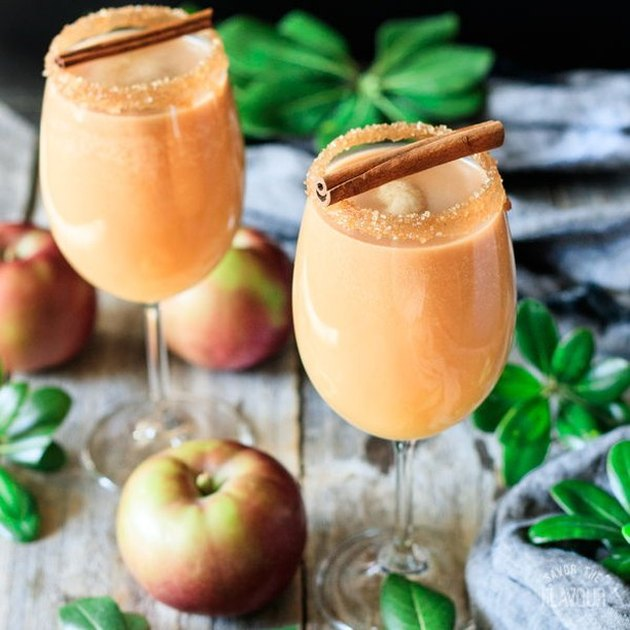 Savor the Flavour Caramel Apple Mocktail