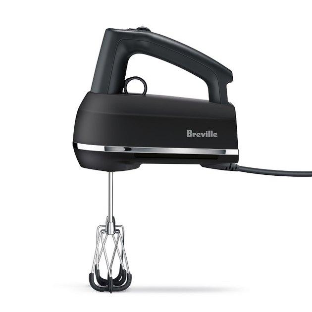 black electric hand mixer