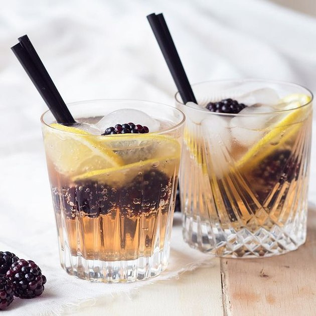 The Worktop Blackberry Ginger Mocktail