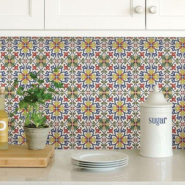removable mosaic backsplash