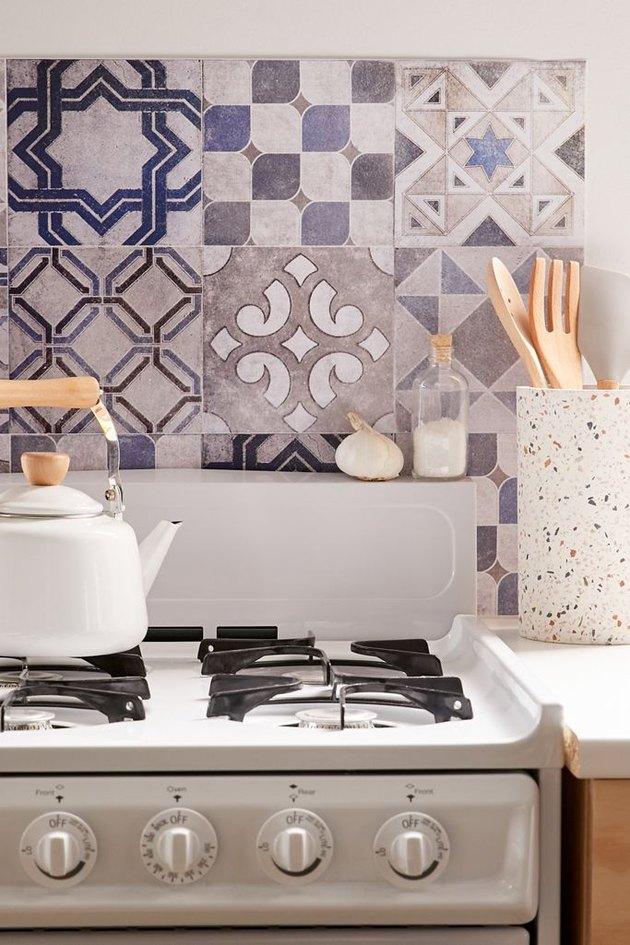 removable tile wallpaper ideas
