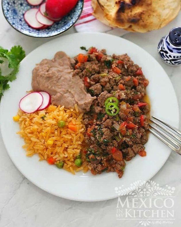 Mexico In My Kitchen Mexican Ground Beef