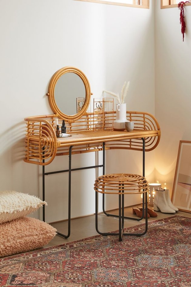 Urban Outfitters Mikko Vanity with matching stool