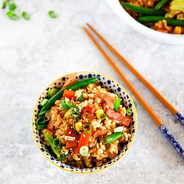 My Korean Kitchen Easy Fried Rice with Bacon