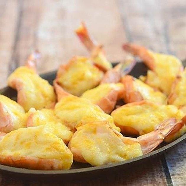Kawaling Pinoy Baked Cheese Shrimp
