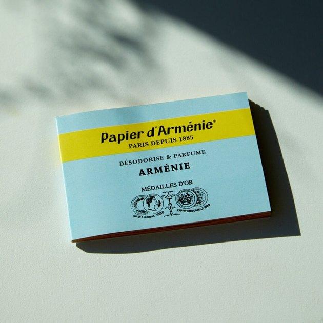 Papier d'Arménie, $7