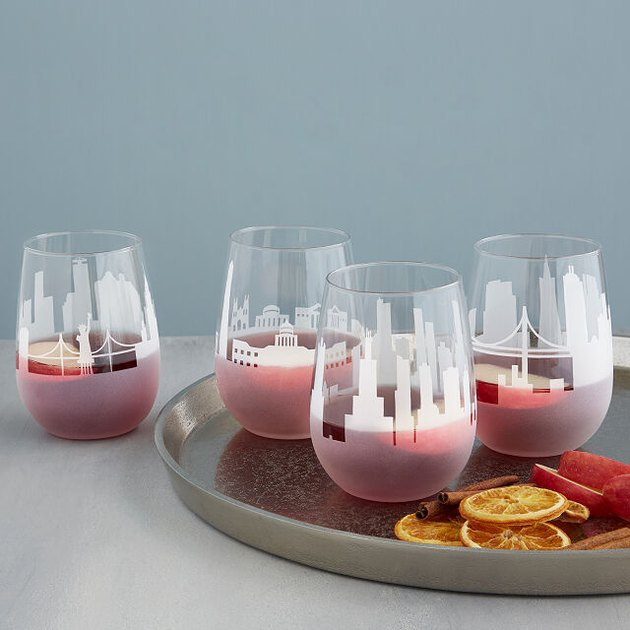 Skyline wine glasses