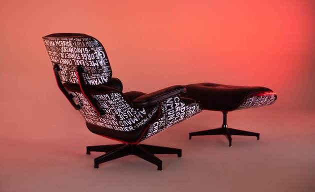 herman miller x michael ford remixed eames chair