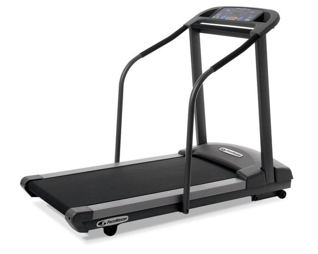 Pacemaster Pro Select Treadmill over white background