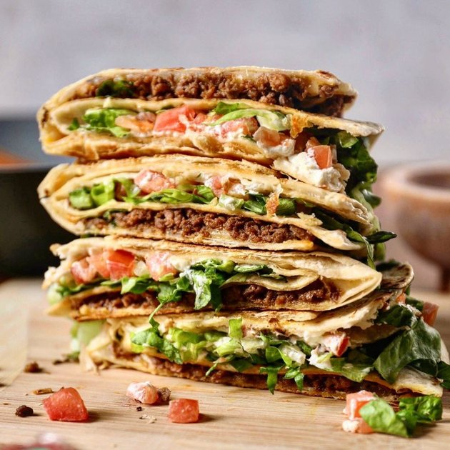 tortilla wrap using impossible meat