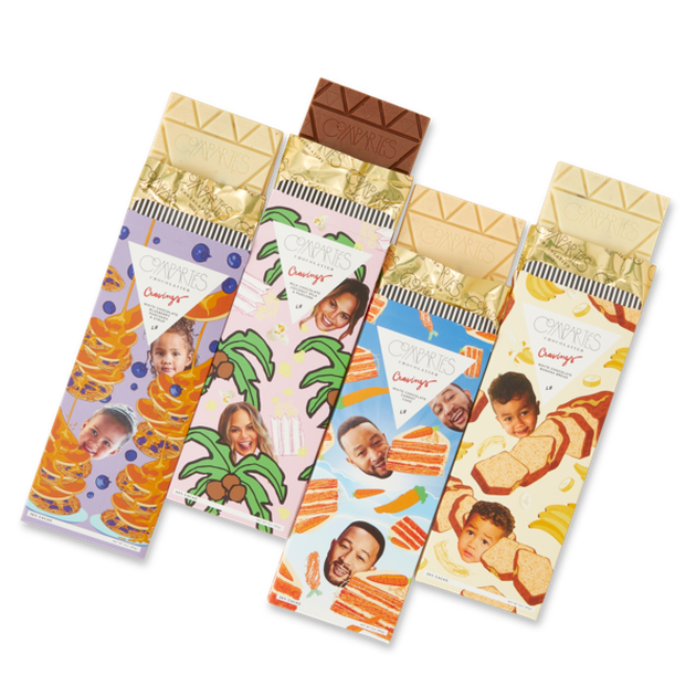 Cravings x Compartés: The Whole Family Chocolate Bar Gift Set