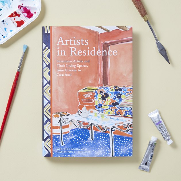cover of book near art tools