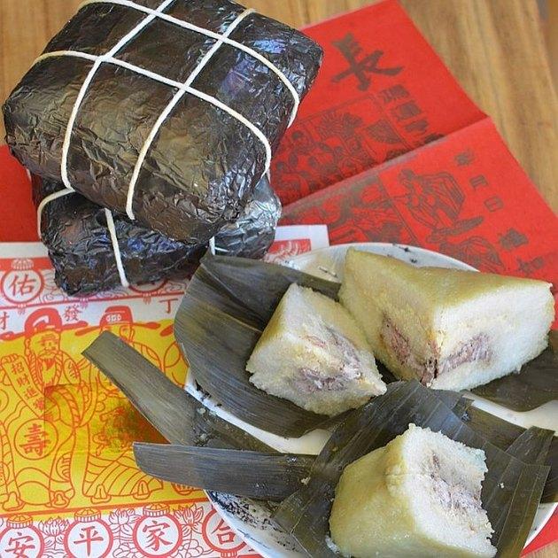 Viet World Kitchen Banh Chung Tet Sticky Rice Cakes