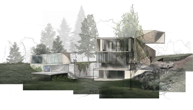 rendering of the obsidian virtual concept house by black artists designers guild