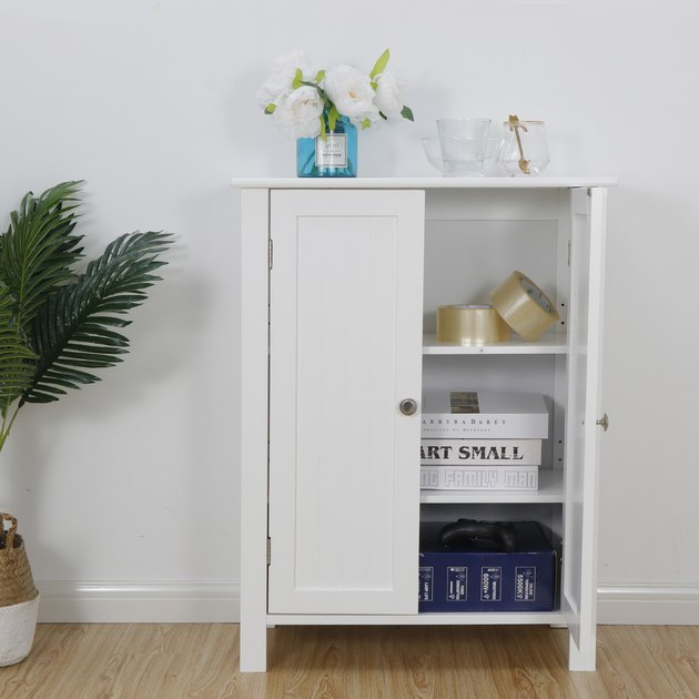 Segawe Bathroom Storage Cabinet Floor Cupboard