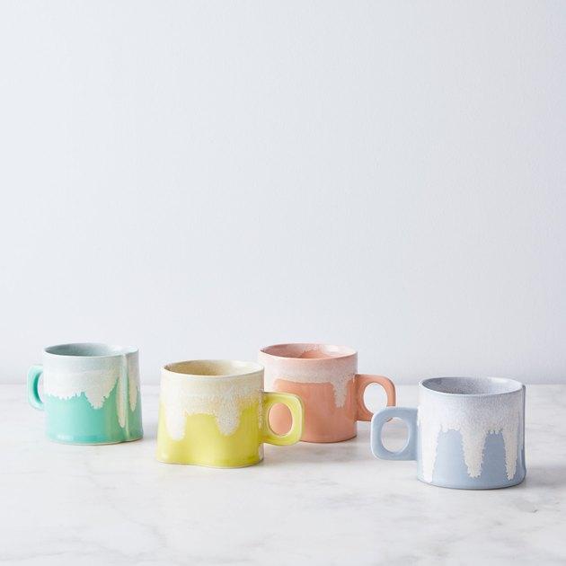 Wilcoxson Brooklyn Ceramics Handmade Drip Mug, $34