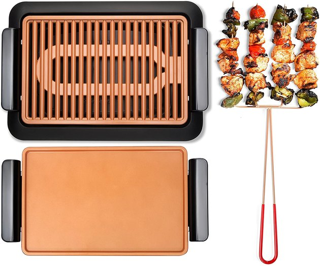 Gotham Steel ceramic griddle and grill