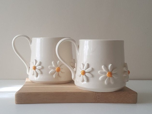 Eniko Kovacs Design Handcrafted Daisy Mug, $23.92