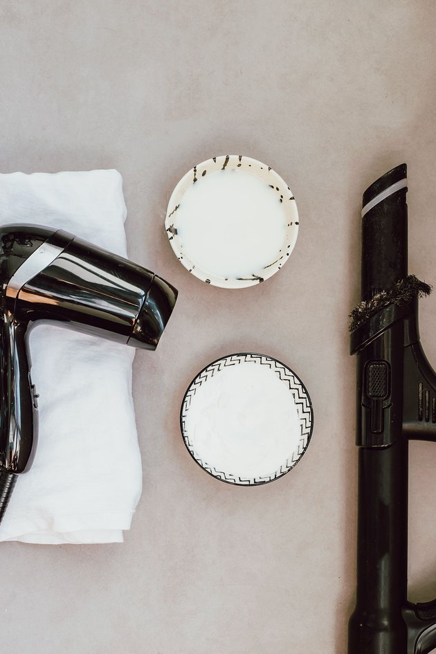 Tools you'll need to clean an upholstered headboard