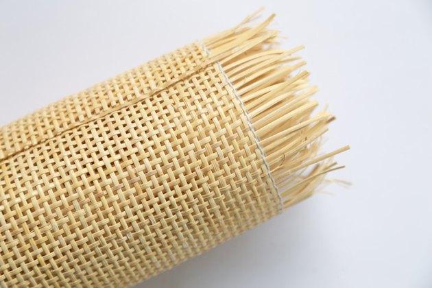 Radio weave cane webbing