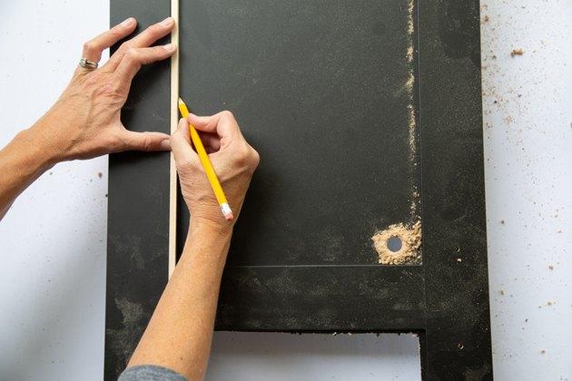 Armoire Ikea Hack avec cannage