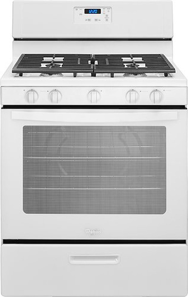 best gas stove Whirlpool 5.1 Cu. Ft. Freestanding Gas Range from Best Buy