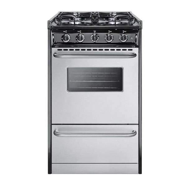 Summit Appliance 4 Burners small stove with Gas Range from Lowe's