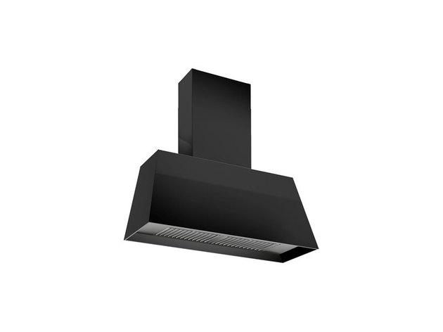 matte black stove hood vent