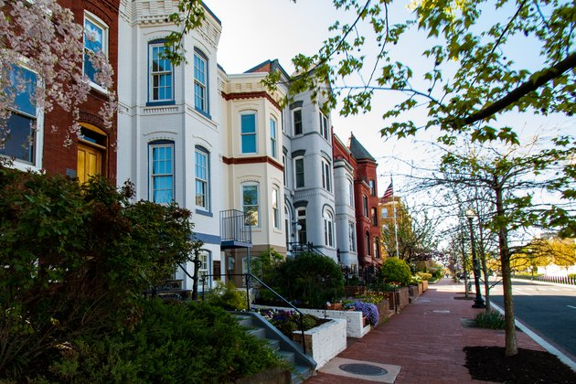 Capitol Hill townhouses