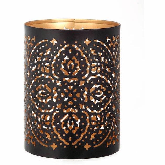 Better Homes & Gardens Metal Candle Sleeve Holder, Black