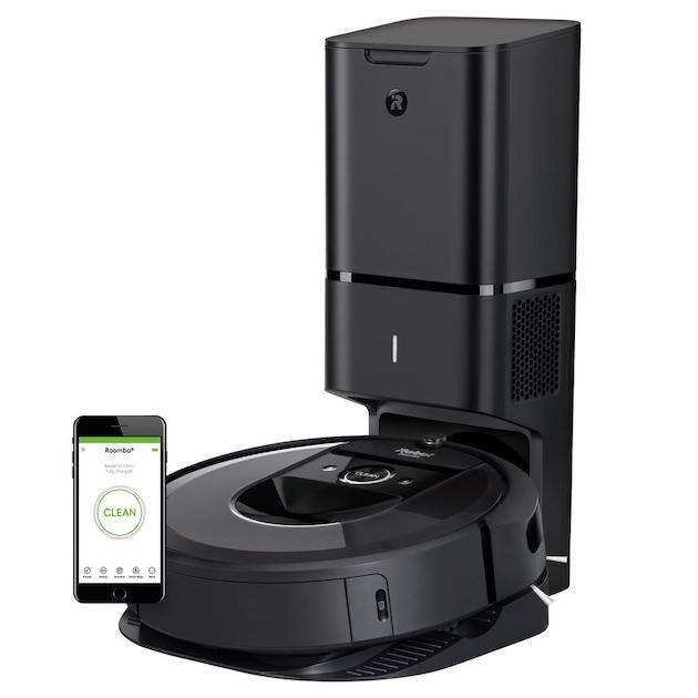 iRobot Roomba i7+ Wi-Fi Connected Robot Vacuum