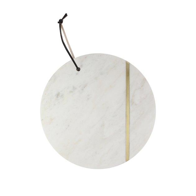 Better Homes & Gardens Round Marble Serving Platter