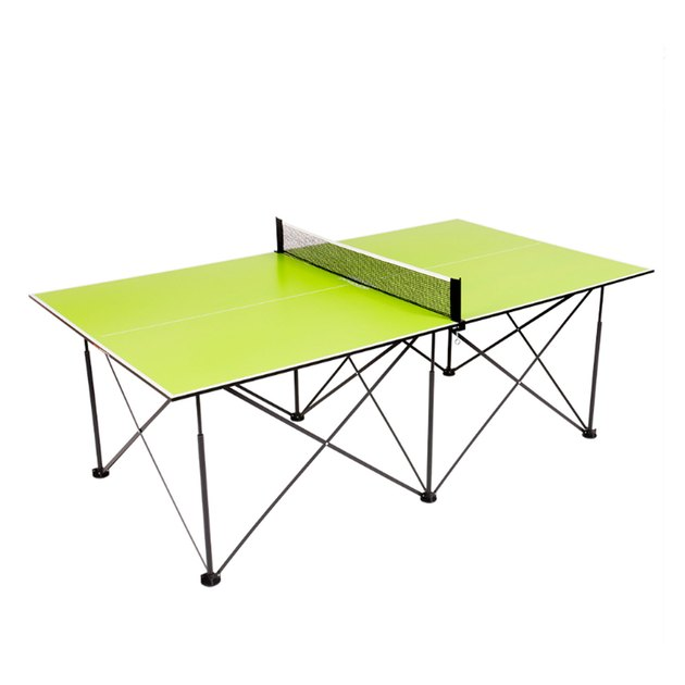 Ping-Pong 7' Instant Play Pop-Up Compact Table Tennis Table with No Tools or Assembly Required – Green