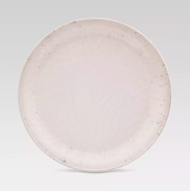 """Dinner Plate 10.5""""x10.5"""" Melamine White - Threshold™"""