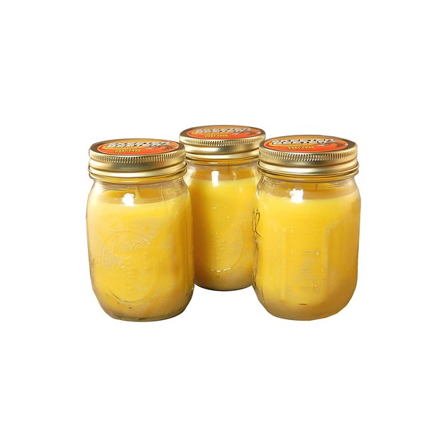 These Citronella Scented Candles give your patio a refreshing option for repelling pests. They are filled with 12 oz each of the finest paraffin, soy and fragrance. These jars contain a deet-free formula that is used as a mosquito repellant.