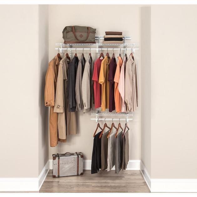 ClosetMaid  ShelfTrack Wire Closet Kits