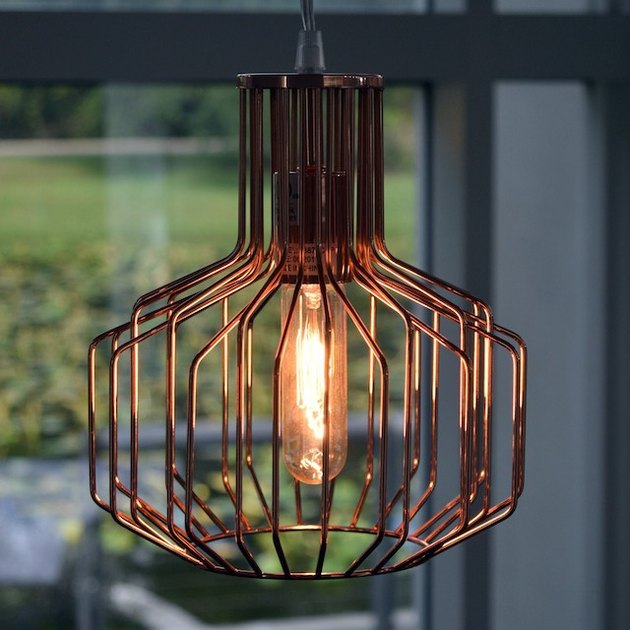 Irena Copper 1 Light Swag Pendant