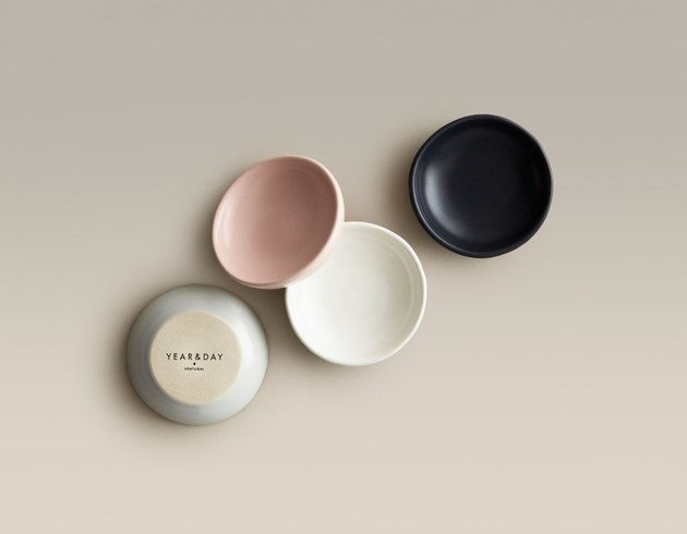 This set of four chic, low-edged dip dishes includes one of each of our signature colors so you can see them all IRL. You can also use this color sample set as salt & pepper cellars and for oils, nuts, and olives in your antipasti glory hours.